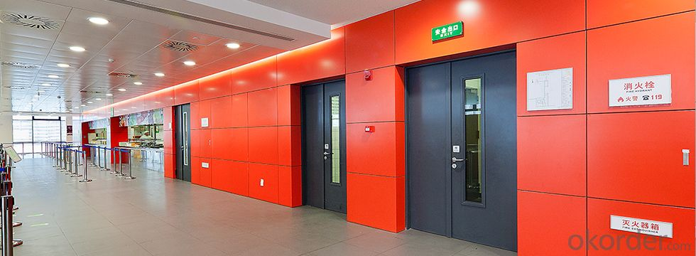 UL standard WH 3 hours fire rated hollow metal Doors