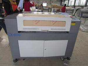 Wood CNC Laser Graving Machine  60w Laser Heads