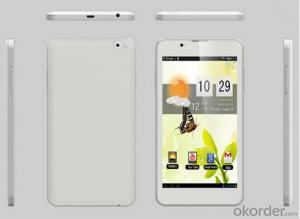 6 Inch Dual Core WCDMA 3G GPS BT Phone Tablet CM611