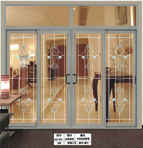Aluminium Partition Sliding Door with best quality