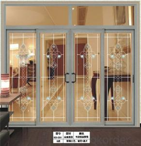 New Design Aluminium Partition Sliding Door