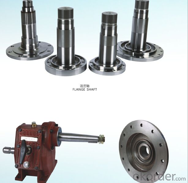 Gear shaft   OEM  hobbing,shaving,grinding for machine OEM