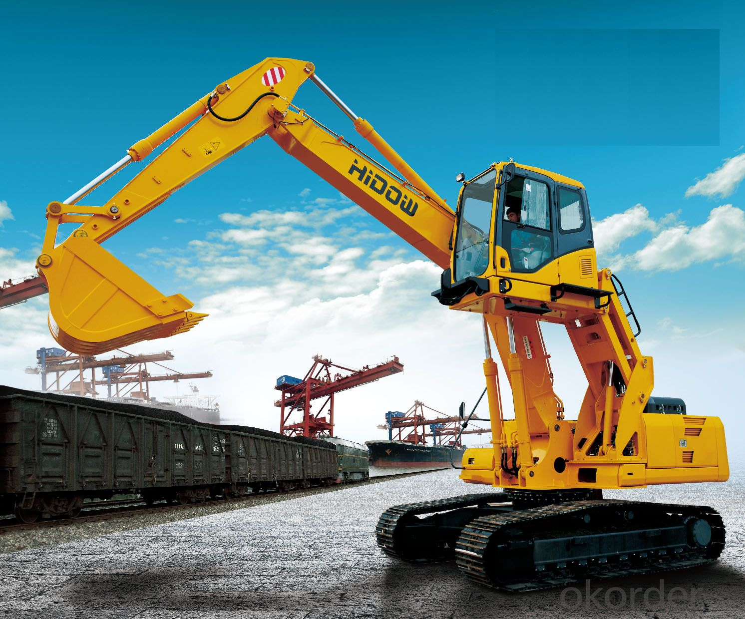 SINOTRUK - THE HIDOW HYDRAULIC EXCAVATOR HW240-8B