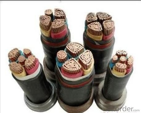 HV copper conductor  armoured underground power cable
