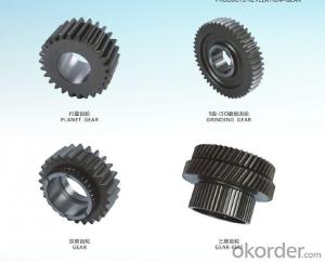 Gear planetary  sun gear  OEM  hobbing,shaving,grinding for machine OEM