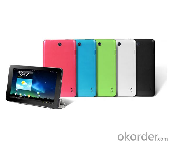 7inch Capacitive 800X480 Rk3026 Dual Core 1.2GHz Android 4.2 Tablet PC with WiFi