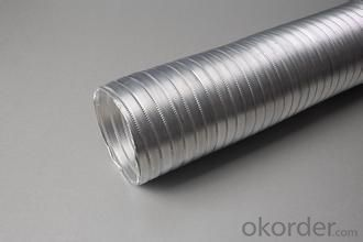 PVC&Aluminum Flexible Duct Pipe high strength