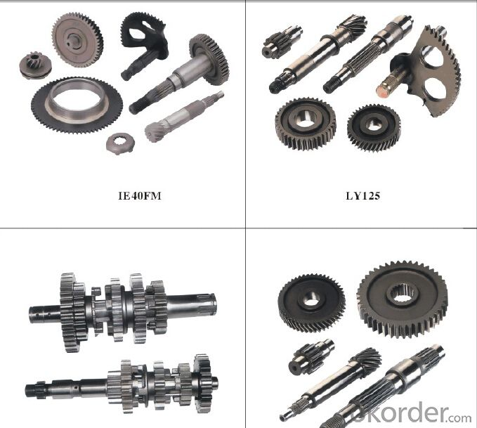 High strength CNC machined gear  for car OEM