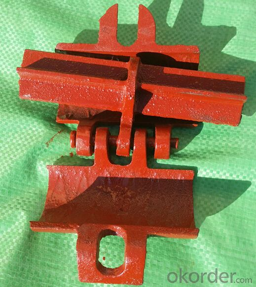 steel iron precision casting scaffold fitting scaffolding coupler
