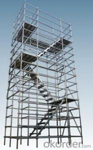 2.0-3.6m Tubular steel shoring prop scaffolding for construction