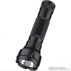 High Power 3w black  torch and flashlight