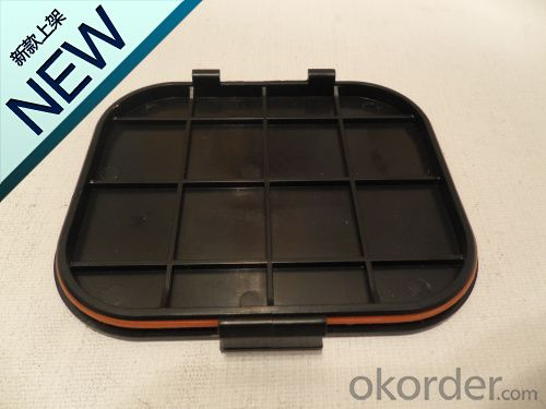 300w Solar panel junction box with 6 diode & with cable and connector.