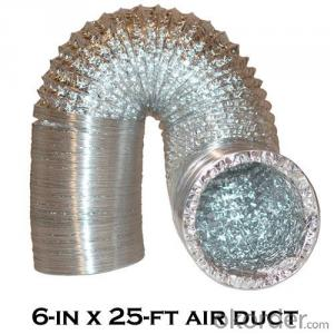 Aluminum Flexible Air Ducting Pipe/Air Hose/Air Pipe
