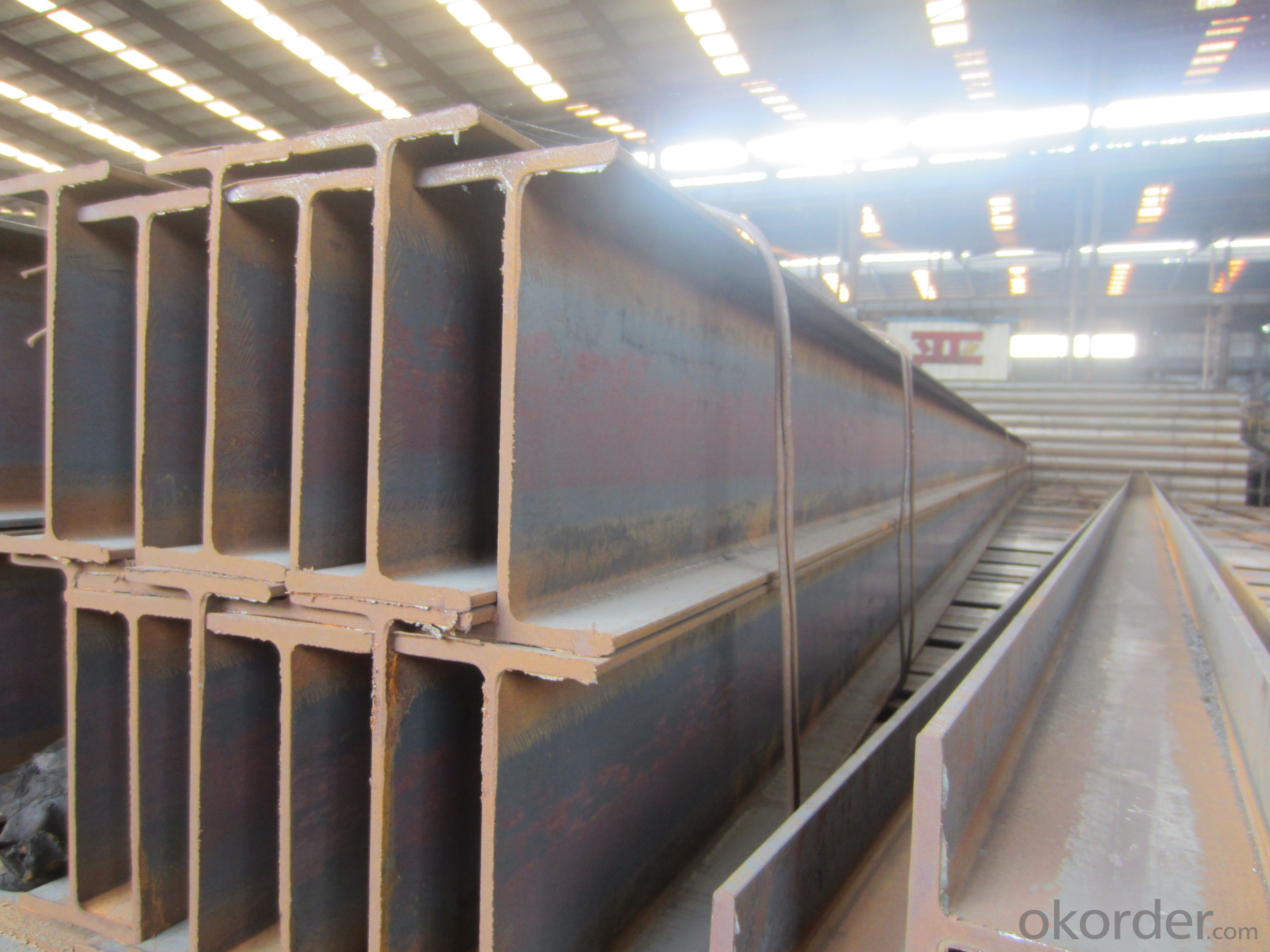 Hot Rolled Structual Carbon JIS Steel H-beam Bar