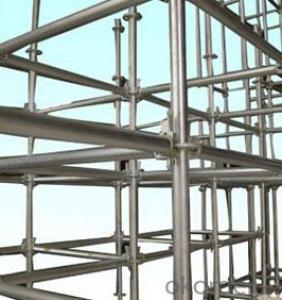 48.3mm Q235B hot dip galvanized ladder scaffolding