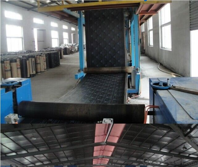 Black EPDM Rubber Waterproofing Membrane applt to Bridge/Road