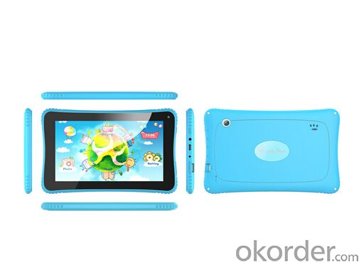 7 Inch Rockchip 3026 Dual Core Children Kid Tablet PC with Good Quality