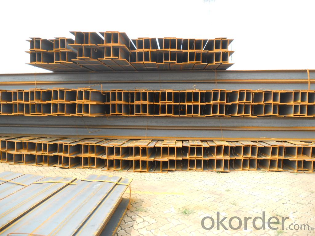 Hot Rolled Structual Carbon Steel H-beam Bar