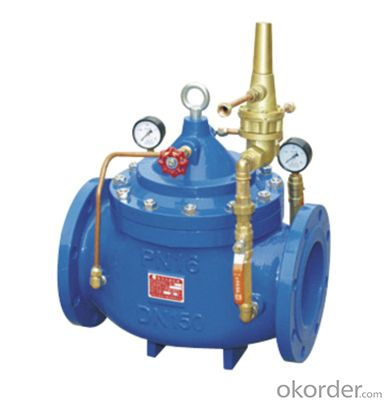 DN350 Ductile Iron Remote control float valve BS Standard