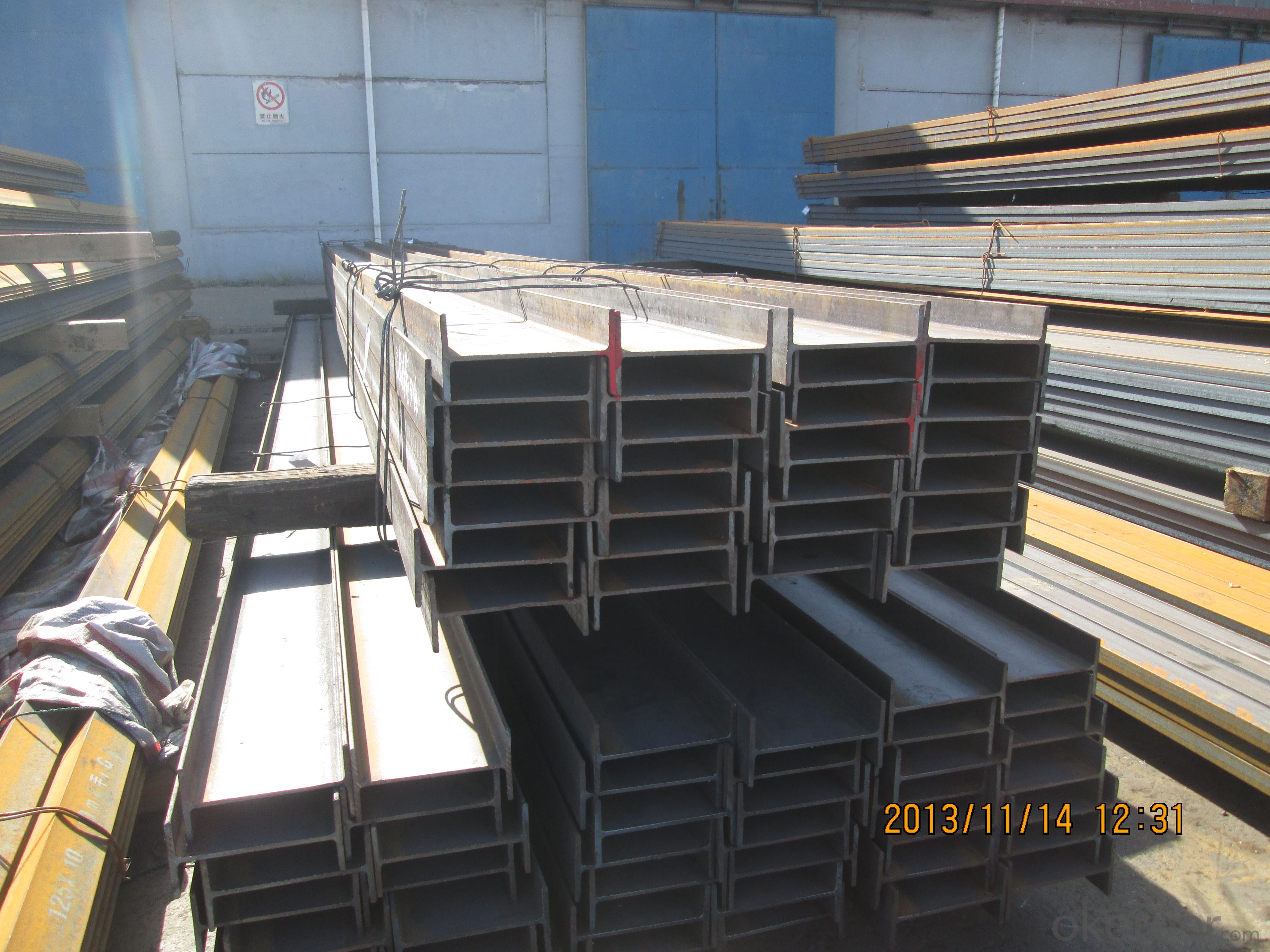 Hot Rolled Structual Carbon JIS Standard Steel H-beam Bar