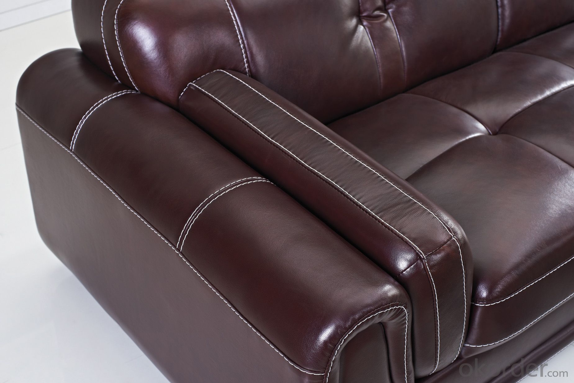 CNBM US popular leather sofa set CMAX-09