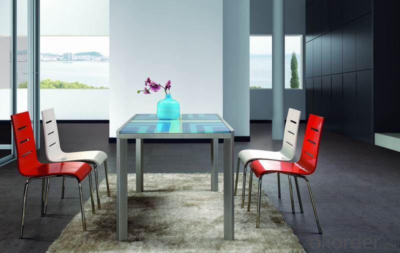 Modern  crtstal dinning chair and desk sets CMAX-11