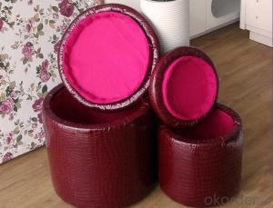 CNBM materials leather PU Ottoman CMAX-18