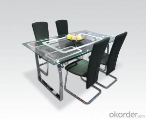 Modern  crtstal dinning chair and desk sets CMAX-13