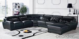 CNBM US popular leather sofa set CMAX-01