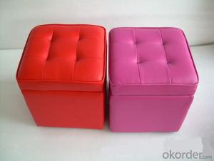CNBM materials leather PU Ottoman CMAX-16