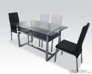 Modern  crtstal dinning chair and desk sets CMAX-16