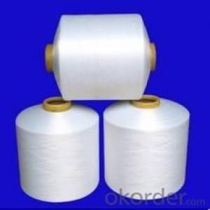 polyester yarn POY/FDY semidull raw white