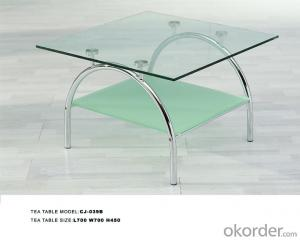 Modern  crtstal desk colorful styles CMAX-09