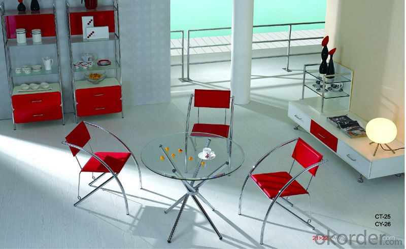 Modern  crtstal dinning chair and desk sets CMAX-10