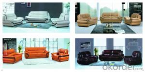 Modern US popular moder leather sofa CMAX-1