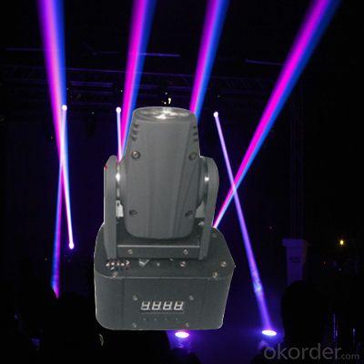 YM-1309 10W LED  Mini Moving Head Beam Light