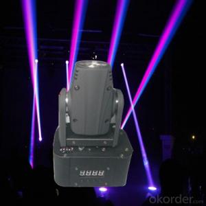 YM-1309 10W LED  Mini Moving Head Beam Light