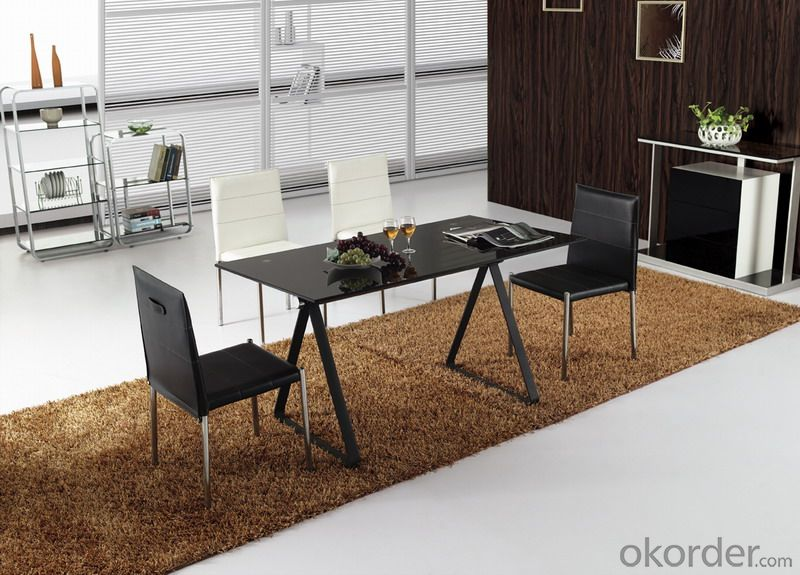 Modern  crtstal dinning chair and desk sets CMAX-18