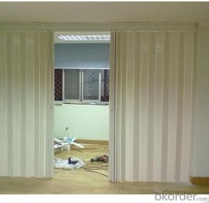 2014 NEW DESIGN PLEXIGLASS 3D STEEL DOORS