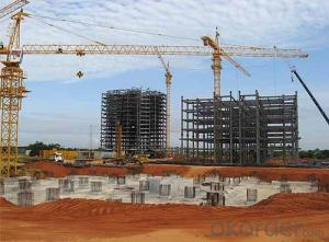 HEAVY STEEL STRUCTURE BUILDING AND PROJECT --YD 021