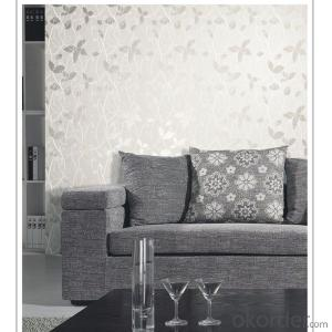 modern design thick pvc wallpaper with deep pattern