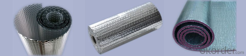 aluminum foil tapes FSK HVAC system flexible insulation ducts