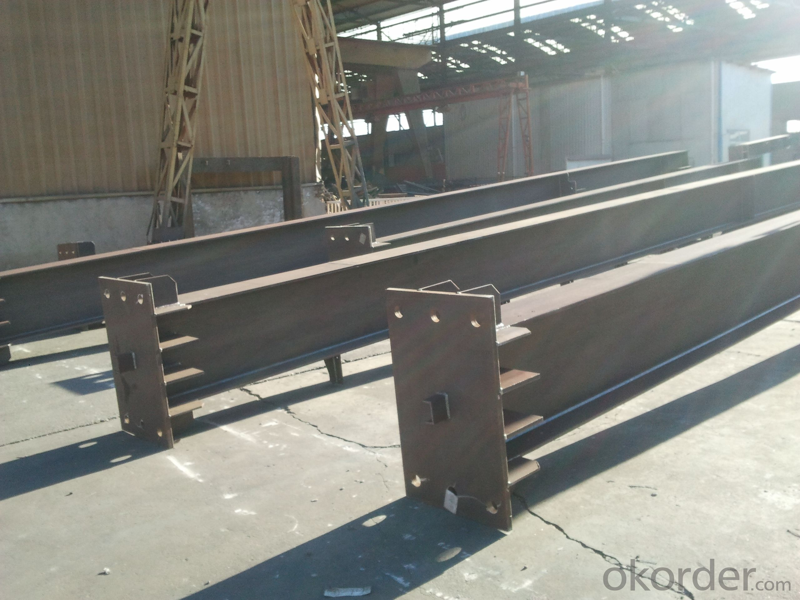 HEAVY STEEL STRUCTURE BUILDING AND PROJECT --YD 018