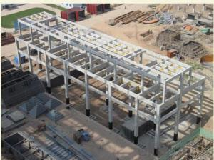 HEAVY STEEL STRUCTURE PROJECT AND BUILDING---PYCG--011