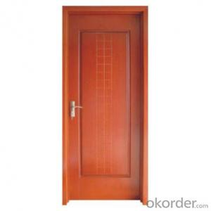 interior cold roll steel solid wooden door