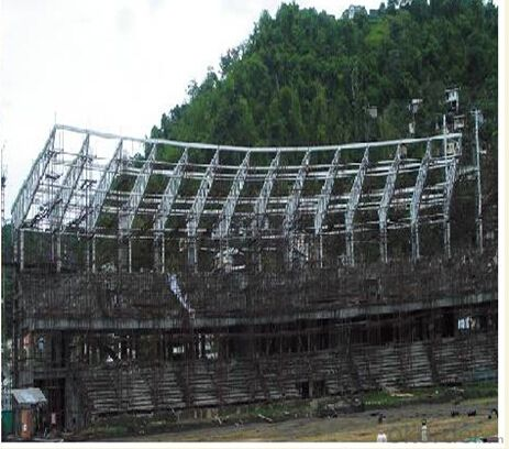 HEAVY STEEL STRUCTURE BUILDING AND PROJECT --HC- 009