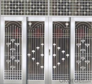 EMBOSSED LAMINOX PANEL STEEL DOOR in china