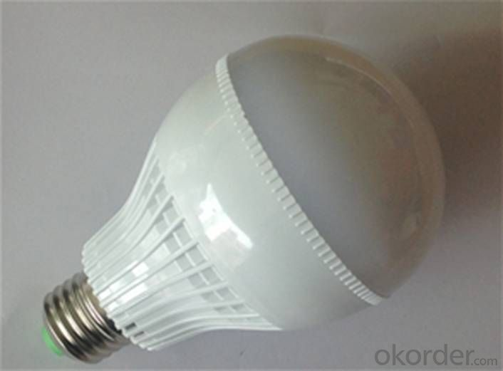 Waterproof 9W LED bulb light, 850Lm, CRI80, 60W incandescent UL standard