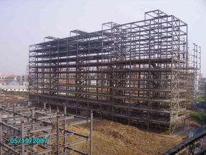 HEAVY STEEL STRUCTURE BUILDING AND PROJECT --YD 014