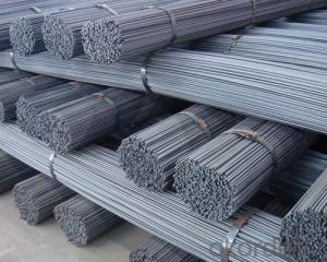 Steel Ribbed Rebar In Bundles GB Standard